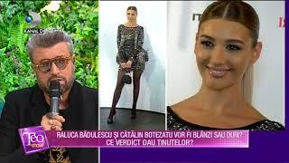 Teo Show(15.10)-Raluca Badulescu si Catalin Botezatu vor fi blanzi sau duri Care a fost ve ...