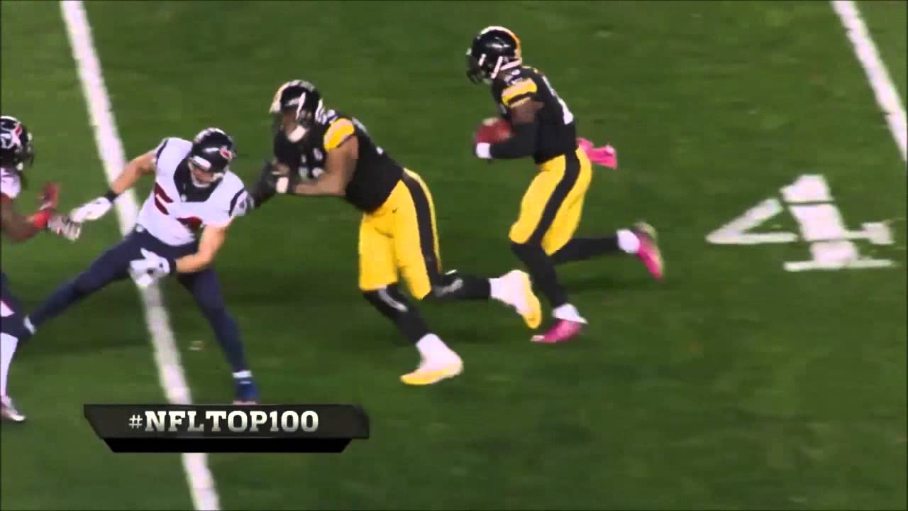 Maurkice Pouncey Highlights Steelers center 53