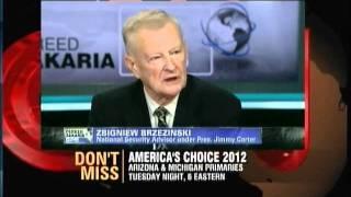 Fareed Zakaria  talks to Zbigniew Brzezinski re Iran Syria Obama and more