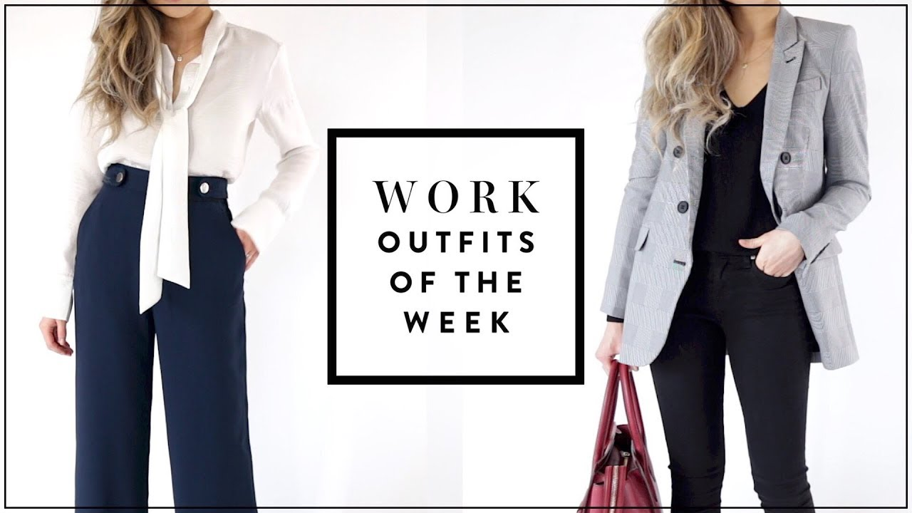 Fall Work Outfits of the Week | Work Office Fashion Lookbook | Work Outfit Ideas | OOTW | Miss Louie