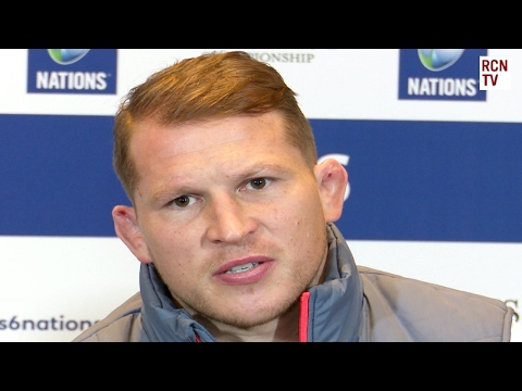 England Captain Dylan Hartley Interview Rugby Six Nations 2017