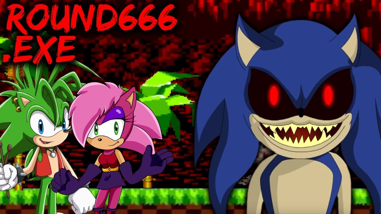 ROUND666 EXE - THE SONIC UNDERGROUND CHARACTERS WILL DIE [Sonic the  Hedgehog Horror Game] Sonic exe
