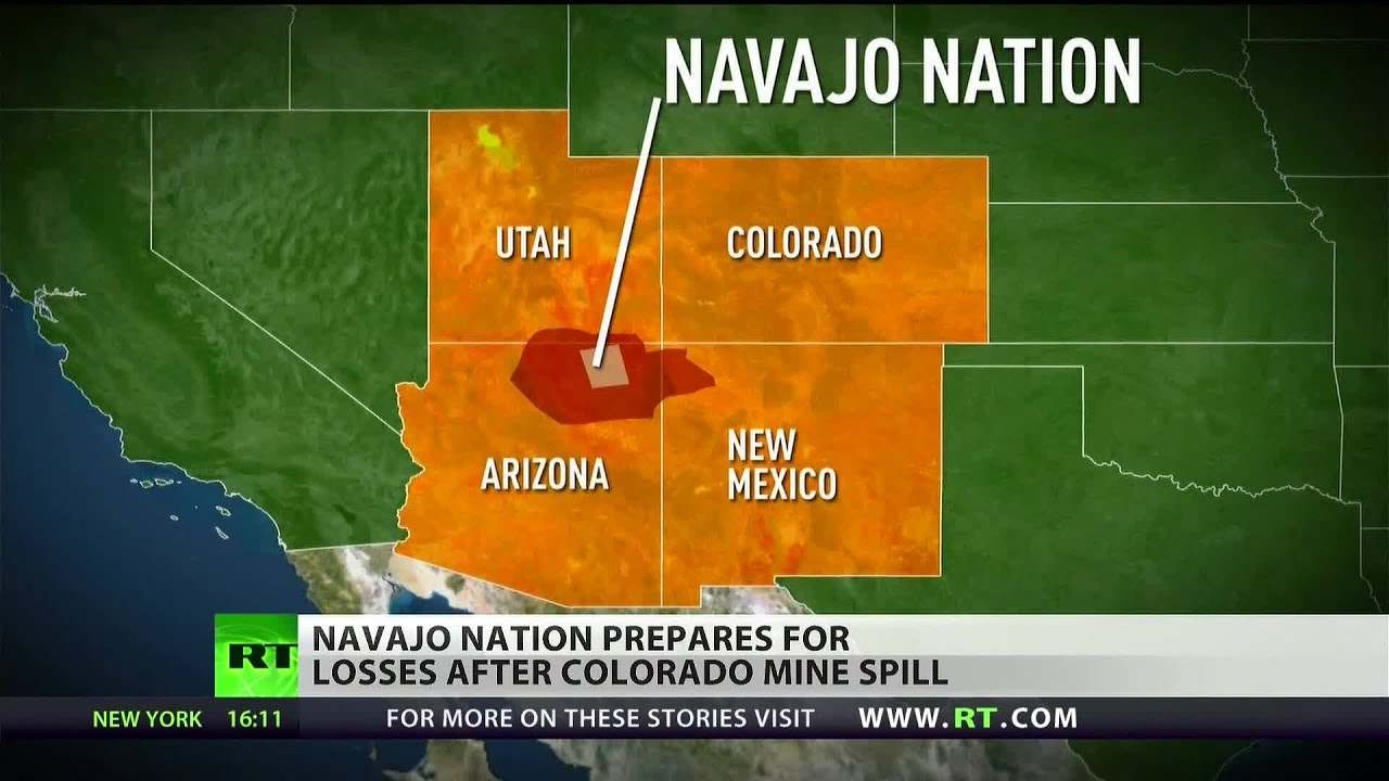 Navajo Nation declares state of emergency over toxic river spill