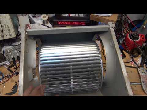 Carrier HVAC system blower Wheel replacement