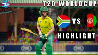 South Africa vs Afghanistan T20 World Cup 2020 - Cricket 19 Gameplay 1080P 60FPS