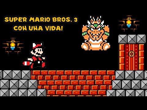 Desafío: Super Mario Bros 3 Con Una Vida - Pepe el Mago Juega