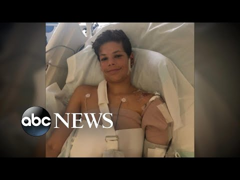 Mom of 13-year-old shark attack victim speaks out