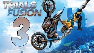 TRIALS FUSION Gameplay Walkthrough Part 3 ALL GOLD [HD 1080p PS4] [ITA Caos Urbano]