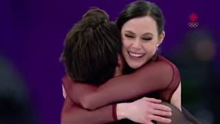 Tessa Virtue & Scott Moir Olympic gold medal winning free skate performance