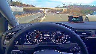 VW Golf 1.0 TSI 115HP Acceleration 0-200 Top Speed Test