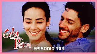 El color de la pasión: Lucía y Marcelo se reconcilian | C-103 | Tlnovelas