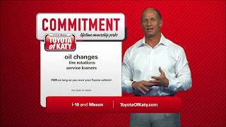 Toyota of Katy | Lifetime Commitment Benefits | Near Cypress TX