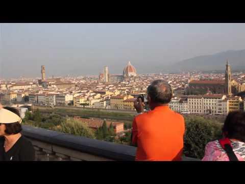 Florence Piazzale Michelangelo Pisa
