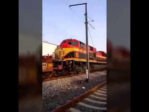Tren México - Estados Unidos - Ferrocarril KCS USA