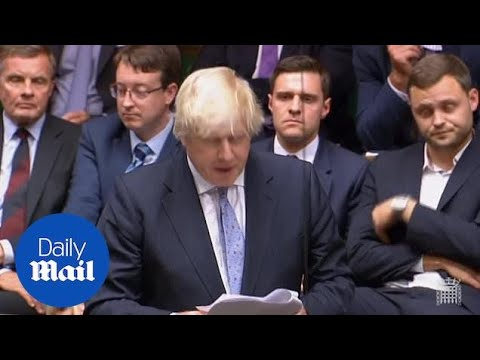 Boris Johnson attacks Theresa May over Brexit 'fog of self-doubt'
