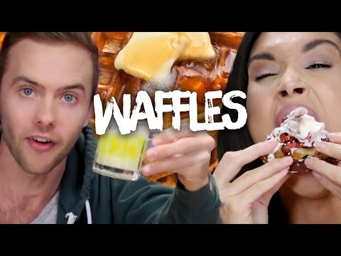 5 Delectable Waffle Creations (Cheat Day)