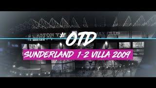 #OTD in 2009 | Sunderland 1-2 Aston Villa