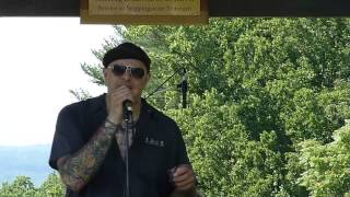 Frank Frost by Nate Myers & the Aces @ Steppingstone Blues Festival 2013