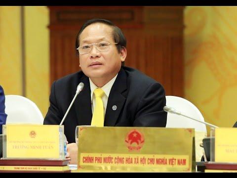 """Bộ trưởng Trương Minh Tuấn: """"Công bố thủ phạm gây ra cá chết là kịp thời"""""""