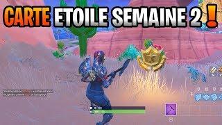 CARTE AU TRÉSOR SEMAINE 2 SAISON 5 FORTNITE