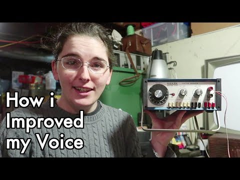 MTF Transgender Voice Practice: DIY Vocal Training with a Function Generator