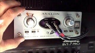 review of avalon ultra five u5 bass guitar di studio live preamp
