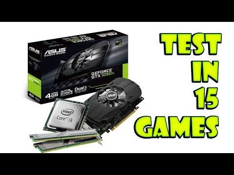 Intel Core i3-3240 + GTX 1050 Ti | 15 games tested