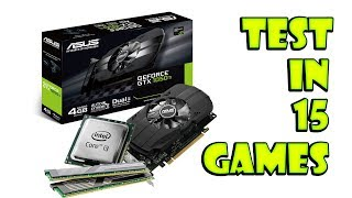 intel Core i3-3240  GTX 1050 Ti  15 games tested
