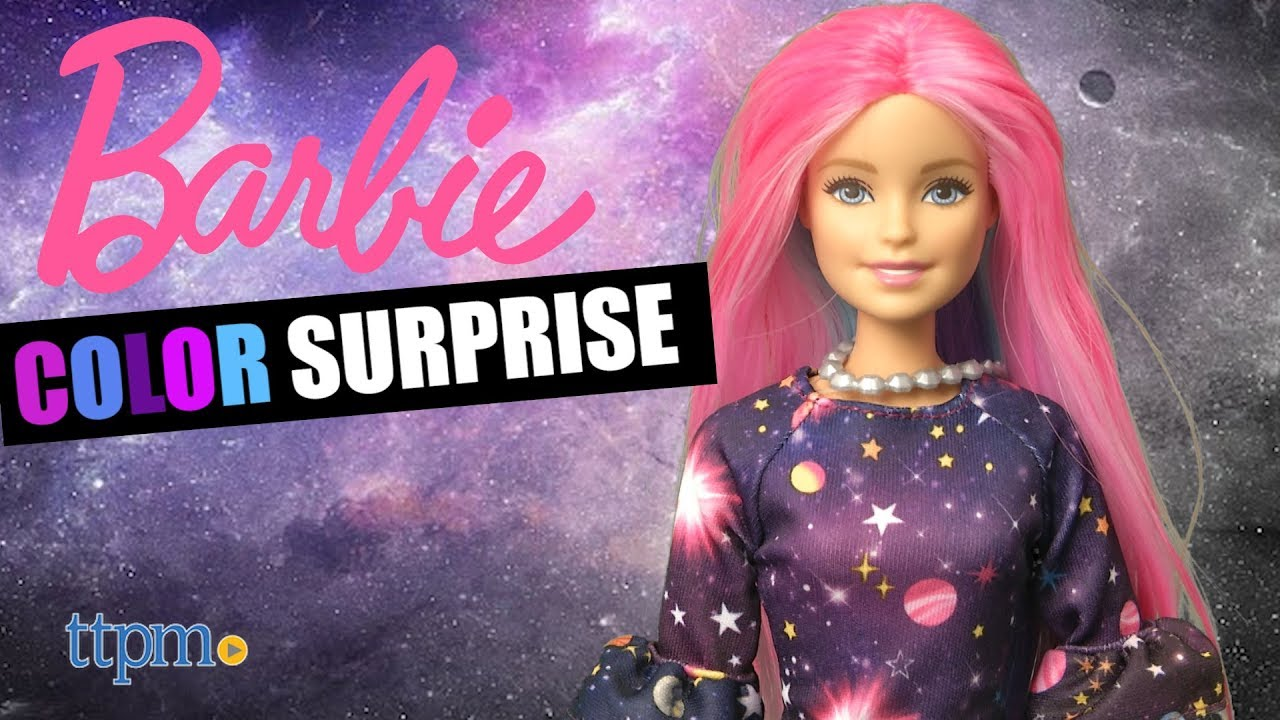 Barbie Color Surprise from Mattel - YouTube
