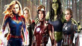Video All FEMALE AVENGERS LED BY CAPTAIN MARVELl! Captain Marvel DAMAGE CONTROL download MP3, 3GP, MP4, WEBM, AVI, FLV September 2019