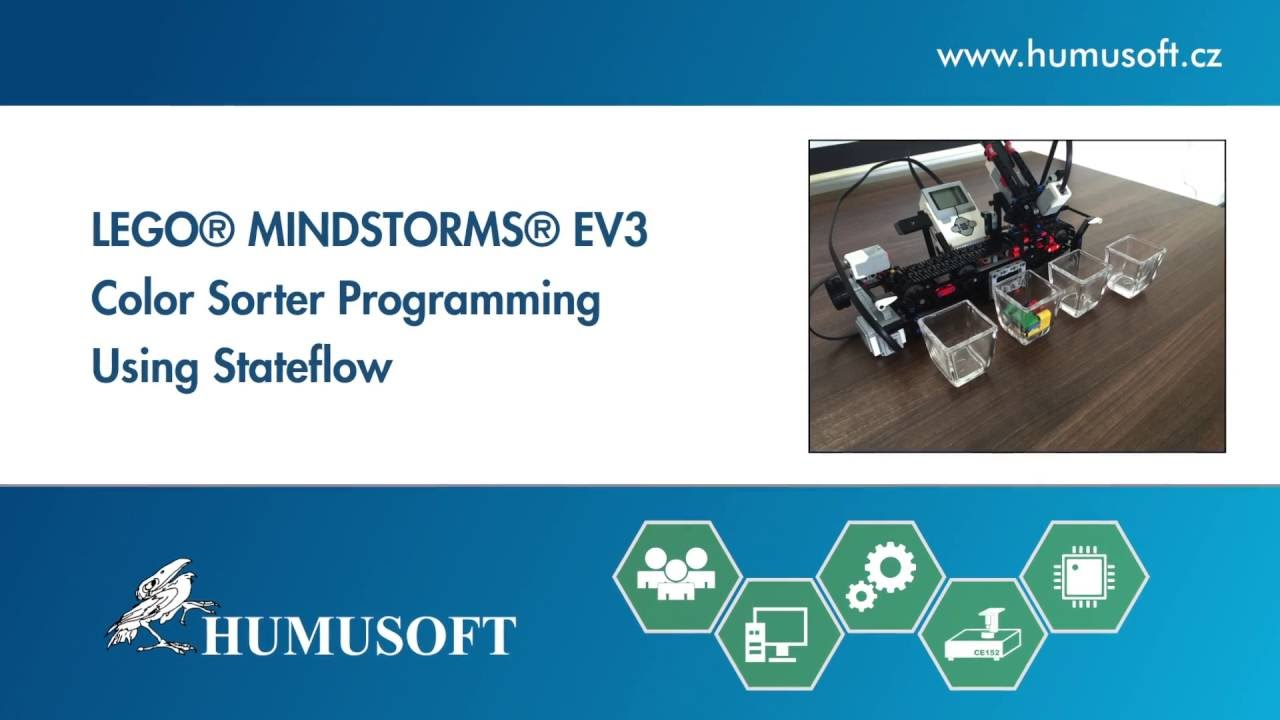 LEGO® MINDSTORMS® EV3 Color Sorter Programming Using