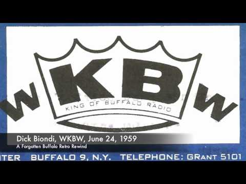 WKBW Radio, Dick Biondi, 1959, Forgotten Buffalo Retro Rewind