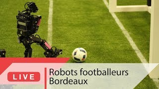 Des robots footballeurs | Live CNRS