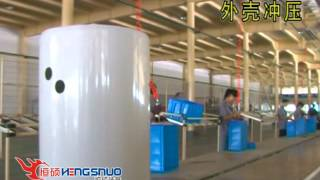 Electric water heater production line for Egypt
