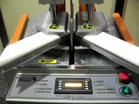 Pvc Window Welding Machine Youtube