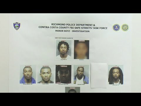 Authorities Announce Arrests In East Bay Gang Operation