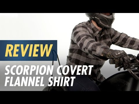 855d76910c Scorpion Covert Flannel Shirt - Cycle Gear