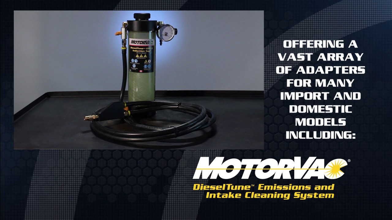 500-0170 | MotorVac DieselTune™ EGR Cleaning Tool - CPS