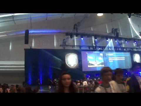 Getting inside David L. Lawrence Convention Center for Isef 2012 opening ceremony.