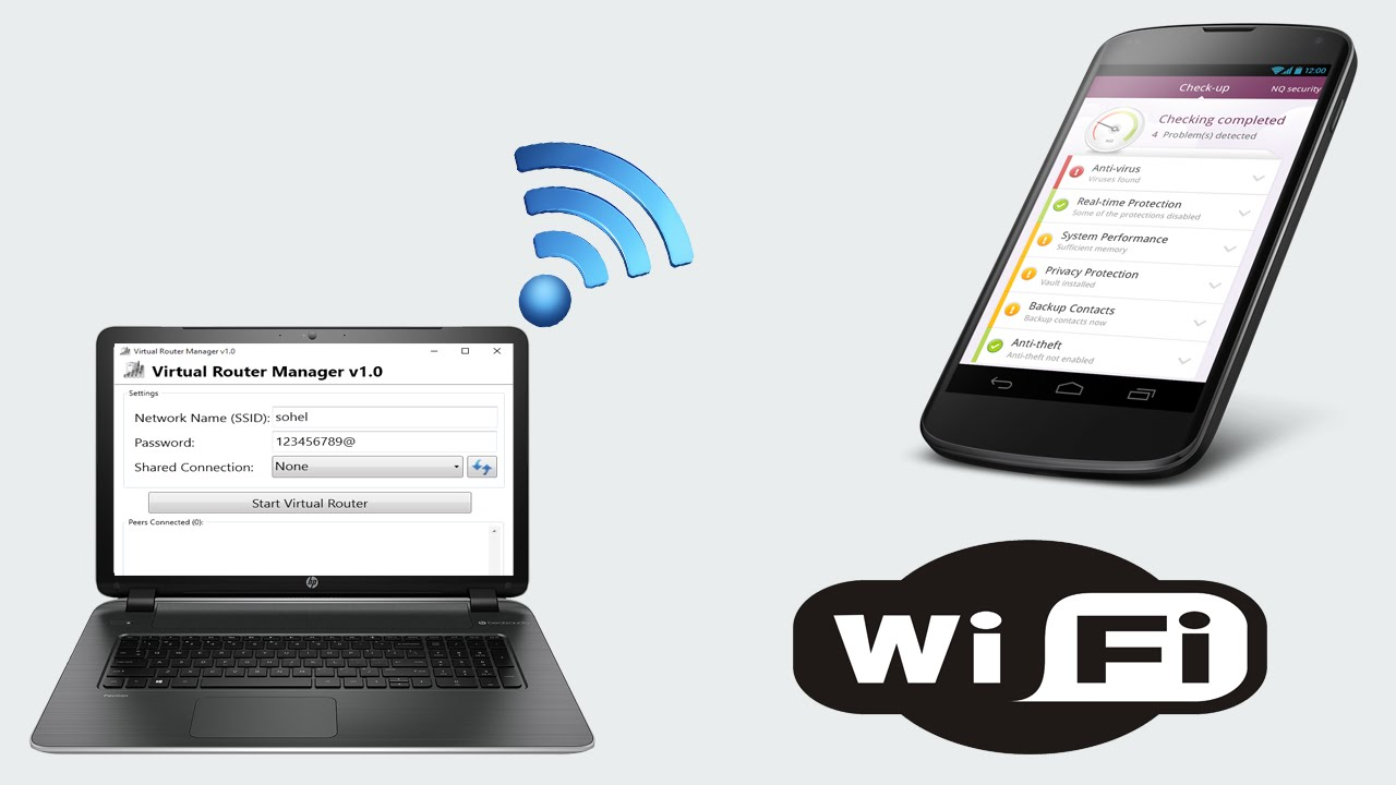 Turn Your Wired Connection Laptop into a WiFi Hotspot [ Narrated ...