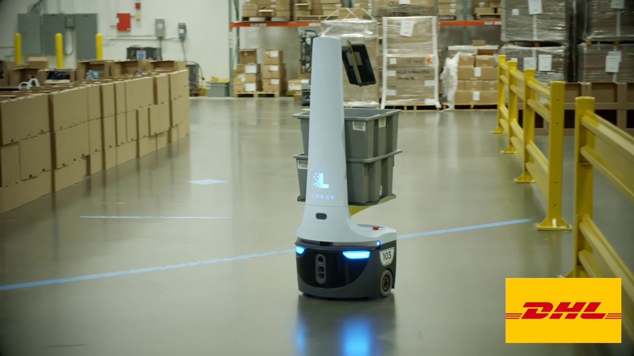 DHL Supply Chain Brings Innovative Robots to the Warehouse