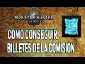 GUÍA: BILLETES DE LA COMISIÓN (COMO CONSEGUIR) - Monster Hunter World (Gameplay Español)