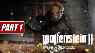 تختيم لعبة Wolfenstein 2 New Colossus بارت 1 البداية / Part 1