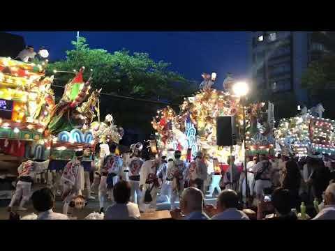 前田祇園一番山笠 令和元年 飾り山笠