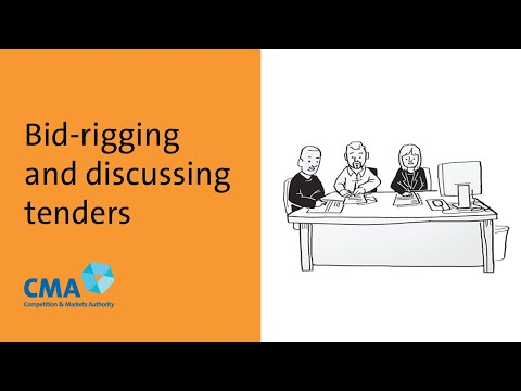 Bid Rigging And Discussing Tenders Youtube