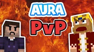 Riskantes Spiel! | Minecraft AURA PvP #12 | Zombey
