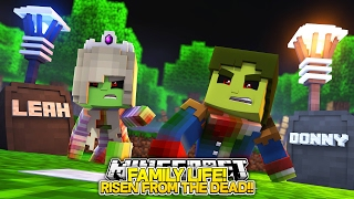 Minecraft FAMILY LIFE: LITTLE DONNY RISES FROM THE DEAD w/ BABY LEAH!! Custom Roleplay.