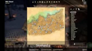 ESO: Alik'r Desert Skyshard Locations