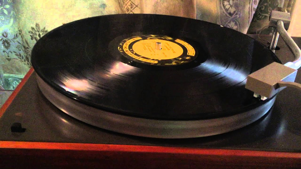 Vintage Turntable Record Player Telefunken Partyline 208 by