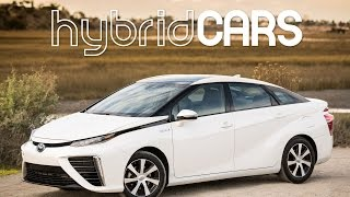 2016 Toyota Mirai Fuel Cell Car First Drive - HybridCars.com Review
